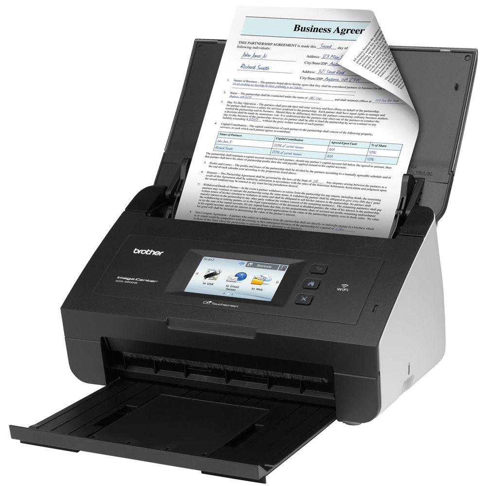 brother imagecenter ads 2500we document scanner ads2500we bh With brother document scanner