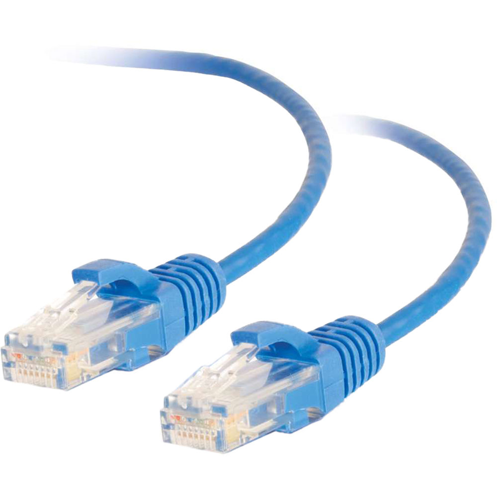 C2G RJ45 Male to RJ45 Male Slim Cat 6 Patch Cable 01079 B&H