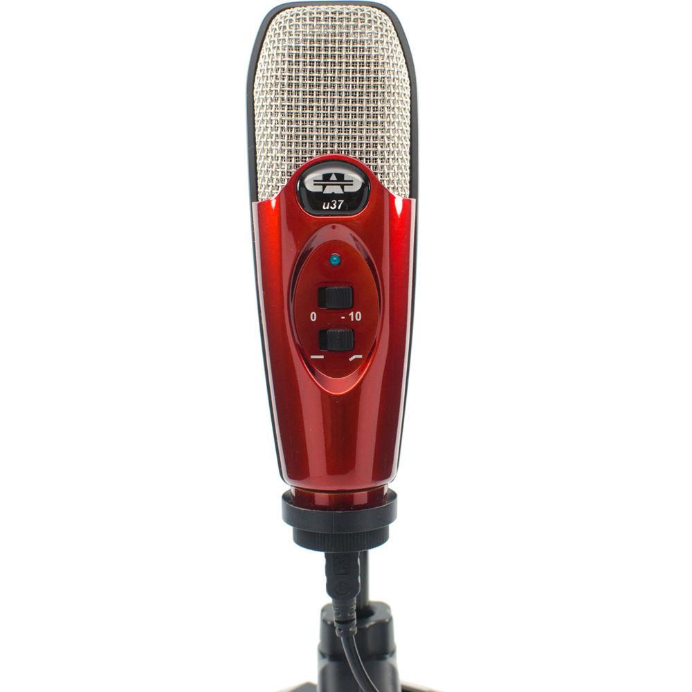 cad u37 usb studio condenser recording microphone u37se ca b h. Black Bedroom Furniture Sets. Home Design Ideas