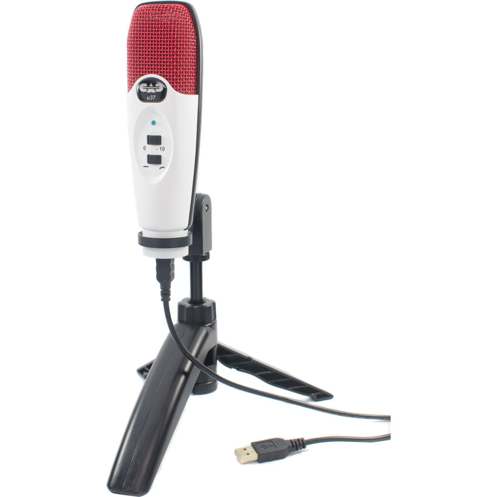 cad u37 usb studio condenser recording microphone u37se rw b h. Black Bedroom Furniture Sets. Home Design Ideas