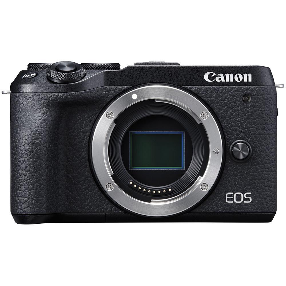 Canon EOS M6 Mark II Mirrorless Digital Camera 3611C001 B&H