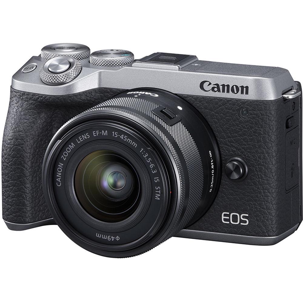 Canon EOS M6 Mark II Mirrorless Digital Camera 3612C011 B&H