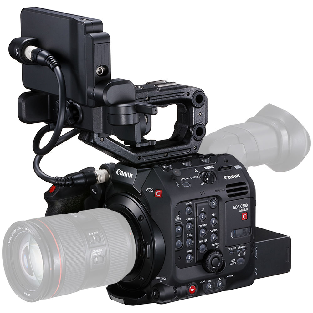Canon C500 Mark II 5 9K Full-Frame Camera 3794C007 C500 Mark