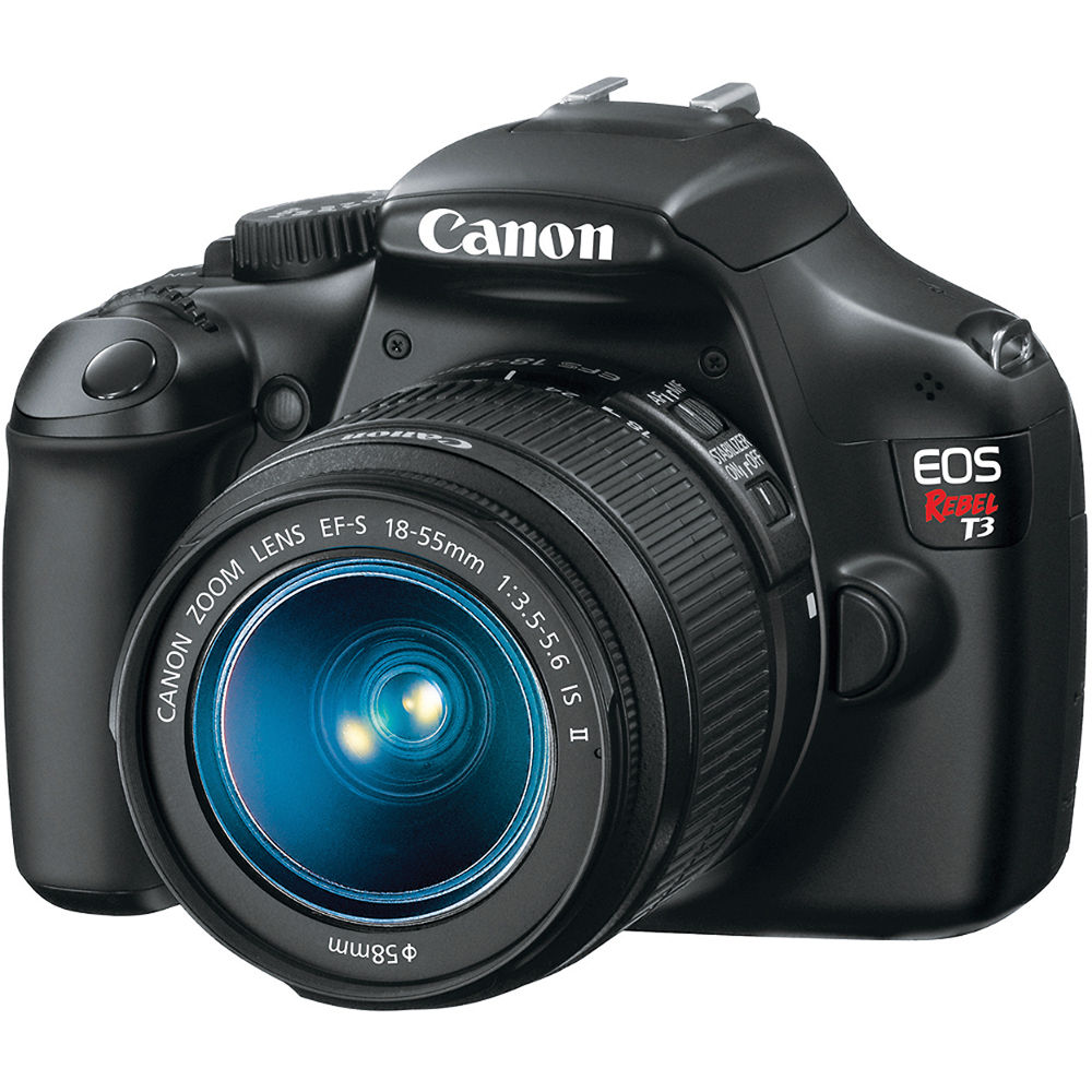 Canon EOS Rebel T3 DSLR Camera and 18-55mm IS II Lens Kit
