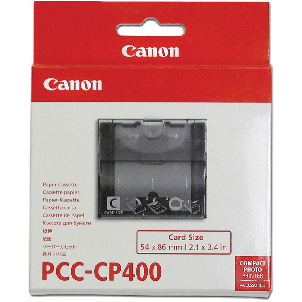 Canon PCC-CP400 Card Size Paper Cassette For SELPHY