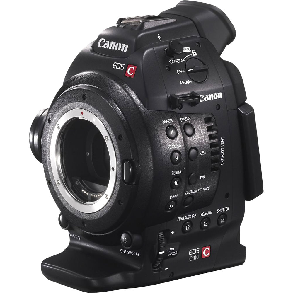 Canon EOS C100 Cinema EOS Camera with Dual Pixel CMOS 7428B002