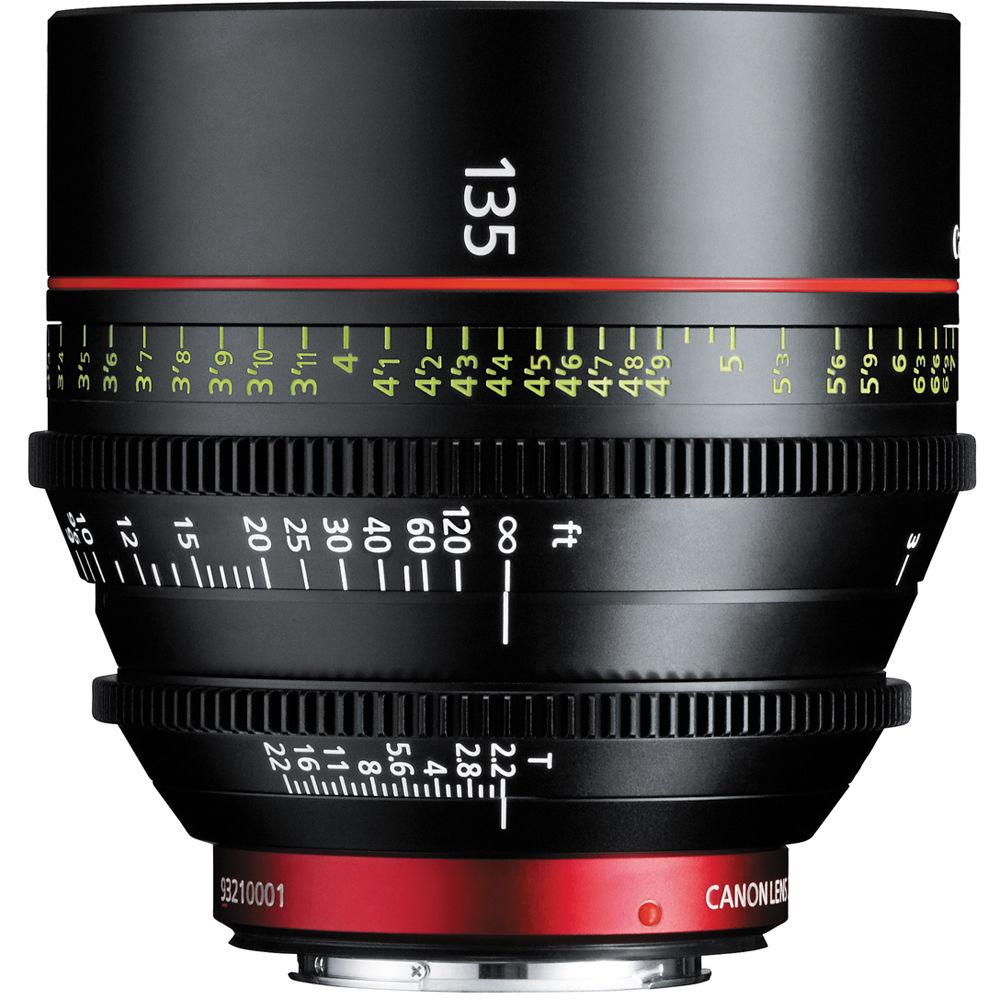 Risultati immagini per CN-E135mm T2.2 L F caratteristiche