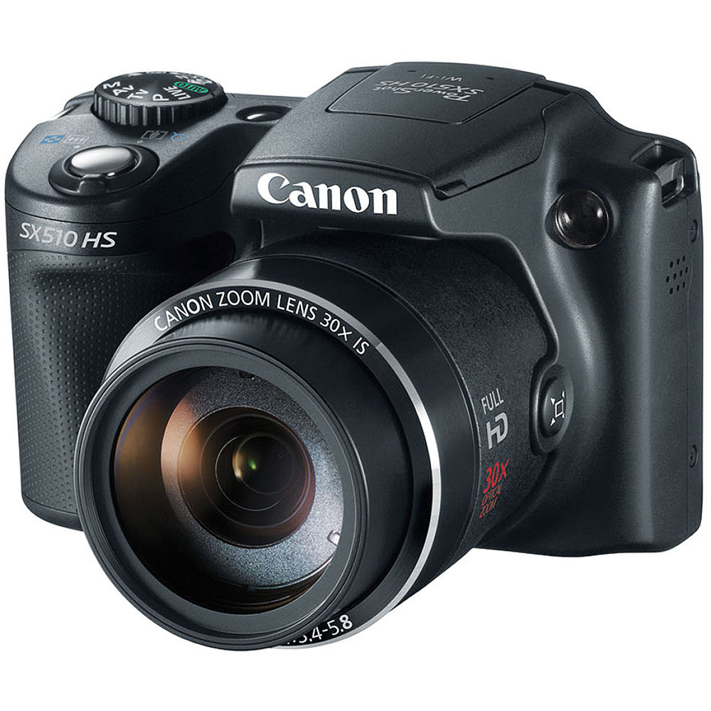 Canon Power Shot SX510 HS Point-and-Shoot Camera 8409B001 B&H