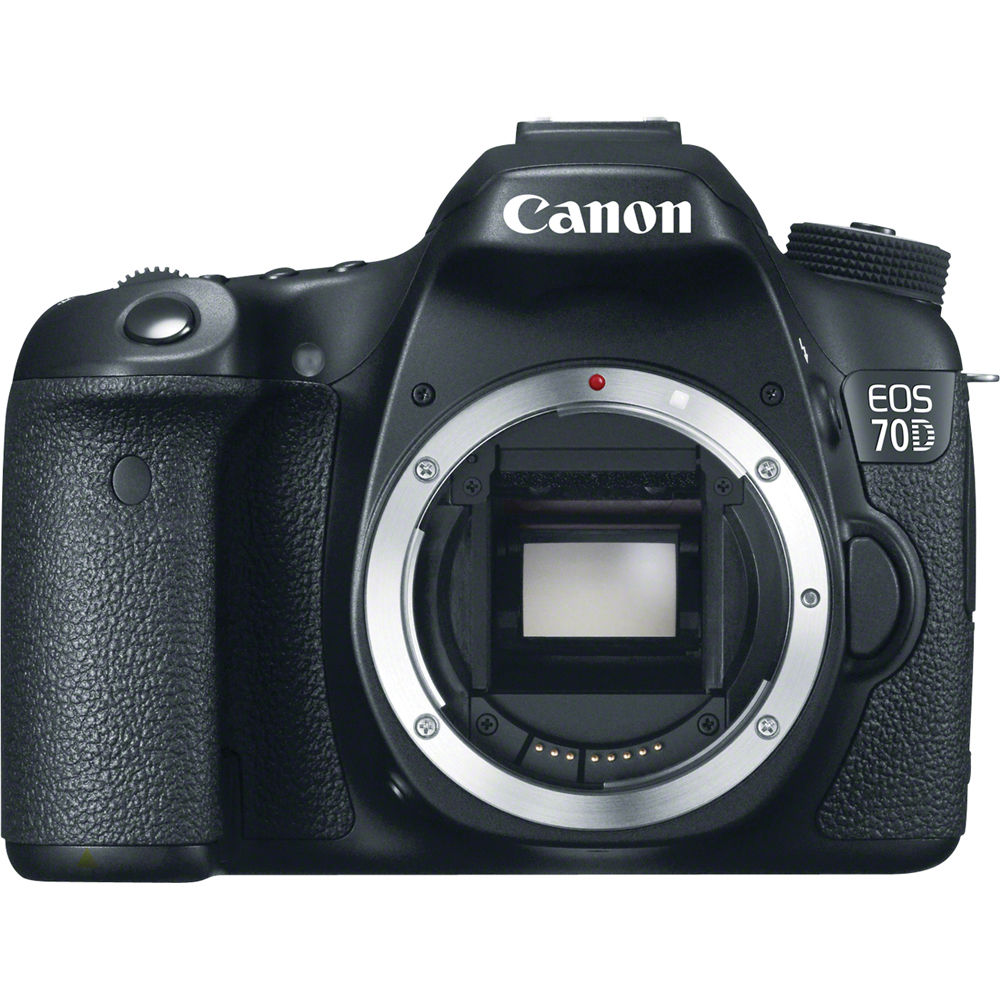 Canon 70D DSLR Camera Body 8469B002 Bamp;H Photo Video