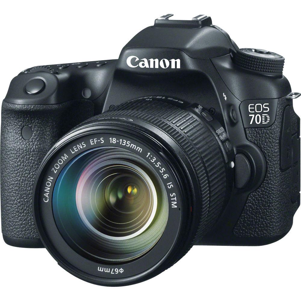 نتيجة بحث الصور عن 1- Canon EOS 70D