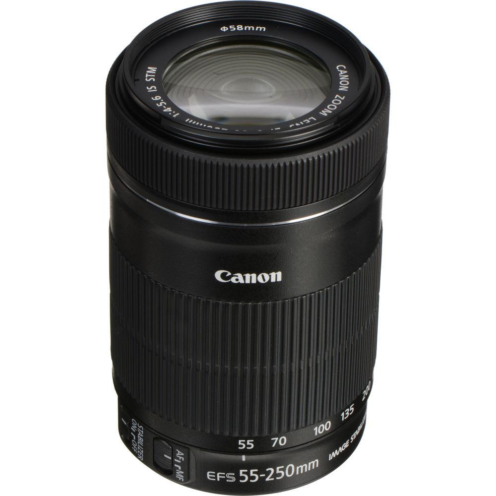 3e614f4e14cb00 Canon EF-S 55-250mm f 4-5.6 IS STM Lens 8546B002 B H Photo Video