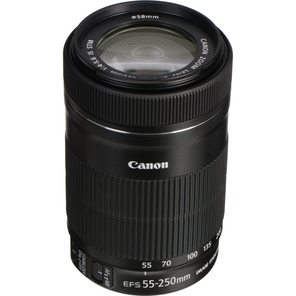 Used Canon Ef S 55 250mm F 4 5 6 Is Stm Lens 8546b008aa B Amp H