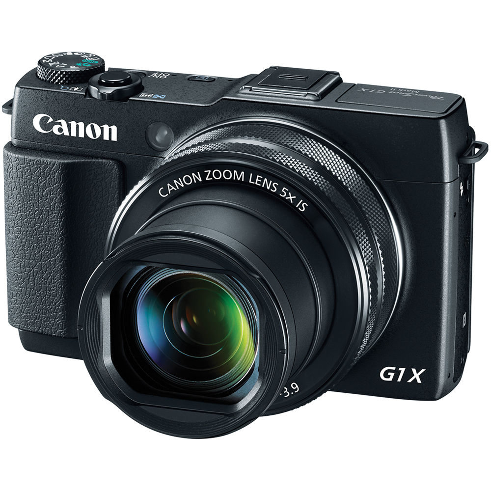 Canon G1X Mark II PowerShot Digital Camera 9167B001 G1X Mark II ...