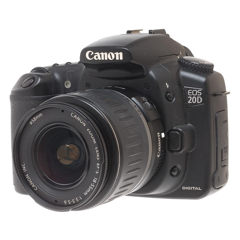 Canon EOS 20D, 8.2 Megapixel, SLR, Digital Camera with Canon 18-55mm Lens