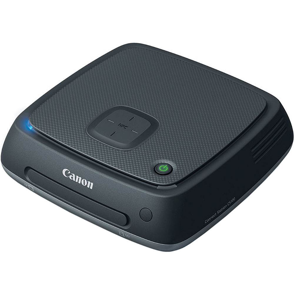 About Storage Devices Canon Connect Station CS100 1TB Device