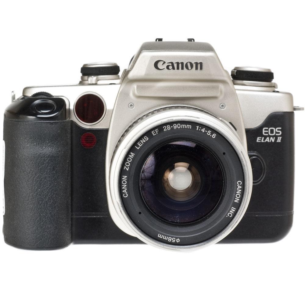 used canon eos elan ii 35mm auto focus camera w 28 90mm f 4 5 6 rh bhphotovideo com canon eos elan 7e manual pdf Camera Canon EOS Elan 7E