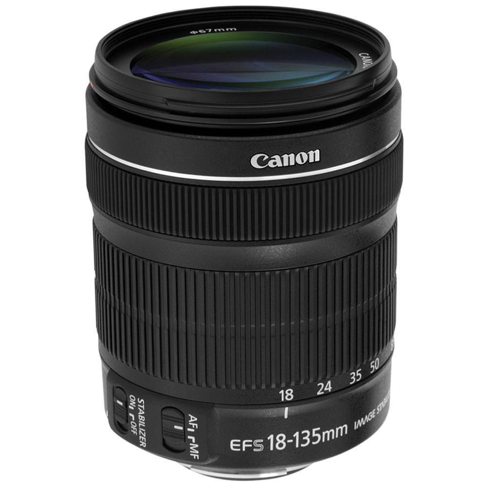 canon ef s 18 135mm f 3 5 5 6 is stm lens ca18135stmwb b h. Black Bedroom Furniture Sets. Home Design Ideas