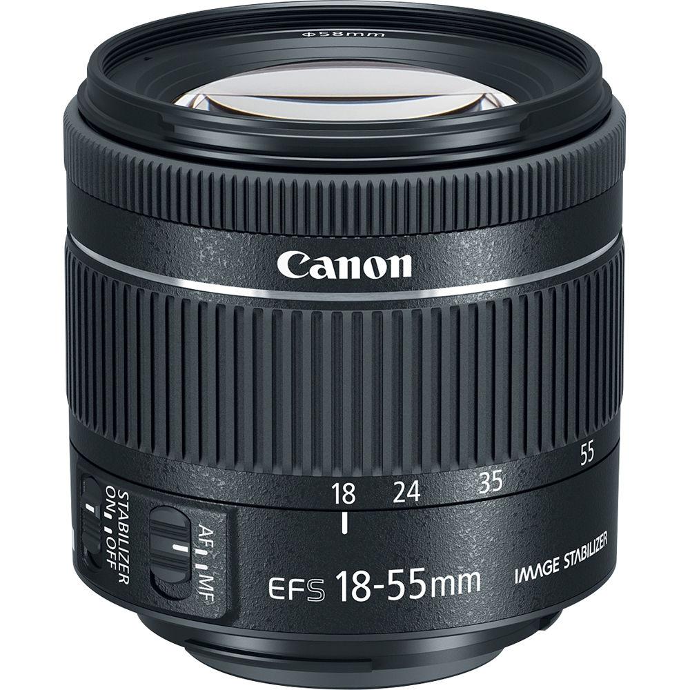 canon ef s 18 55mm f 4 5 6 is stm lens 1620c002 b h photo. Black Bedroom Furniture Sets. Home Design Ideas