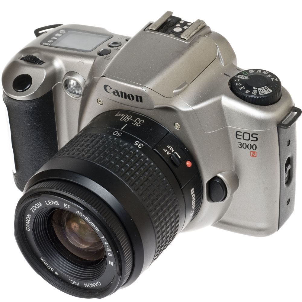 used canon eos 3000n european name of the rebel xsn 35mm slr b h rh bhphotovideo com Canon EOS 6D Canon EOS Rebel T3