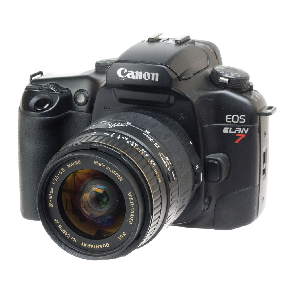 used canon eos elan 7 35mm slr af camera with a quantaray b h rh bhphotovideo com EOS Elan 7E Review Canon Elan 7N Craigslist