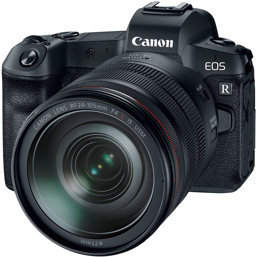Canon Eos R Mirrorless Digital Camera With 24 105mm F 4l