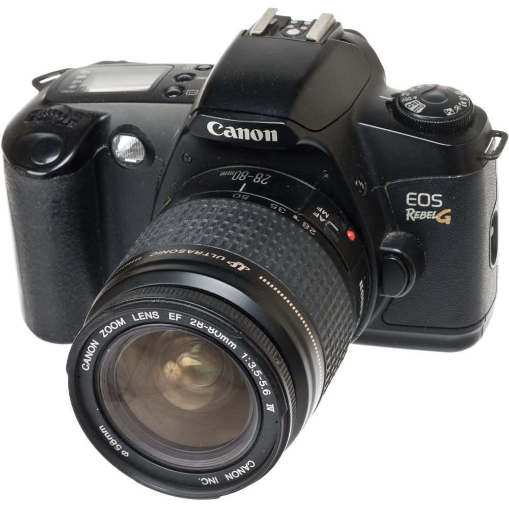 used canon eos rebel g 35mm slr autofocus camera with 28 80mm rh bhphotovideo com EOS Rebel F eos rebel g manual