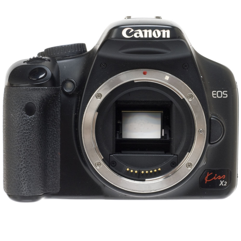 used canon eos rebel kiss x2 japanese name of the xsi slr b h rh bhphotovideo com Canon EOS 1000D Canon EOS 7D