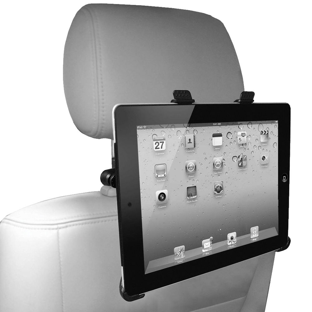 Case Logic iPad Headrest Mount with Bonus Desktop Mount ...