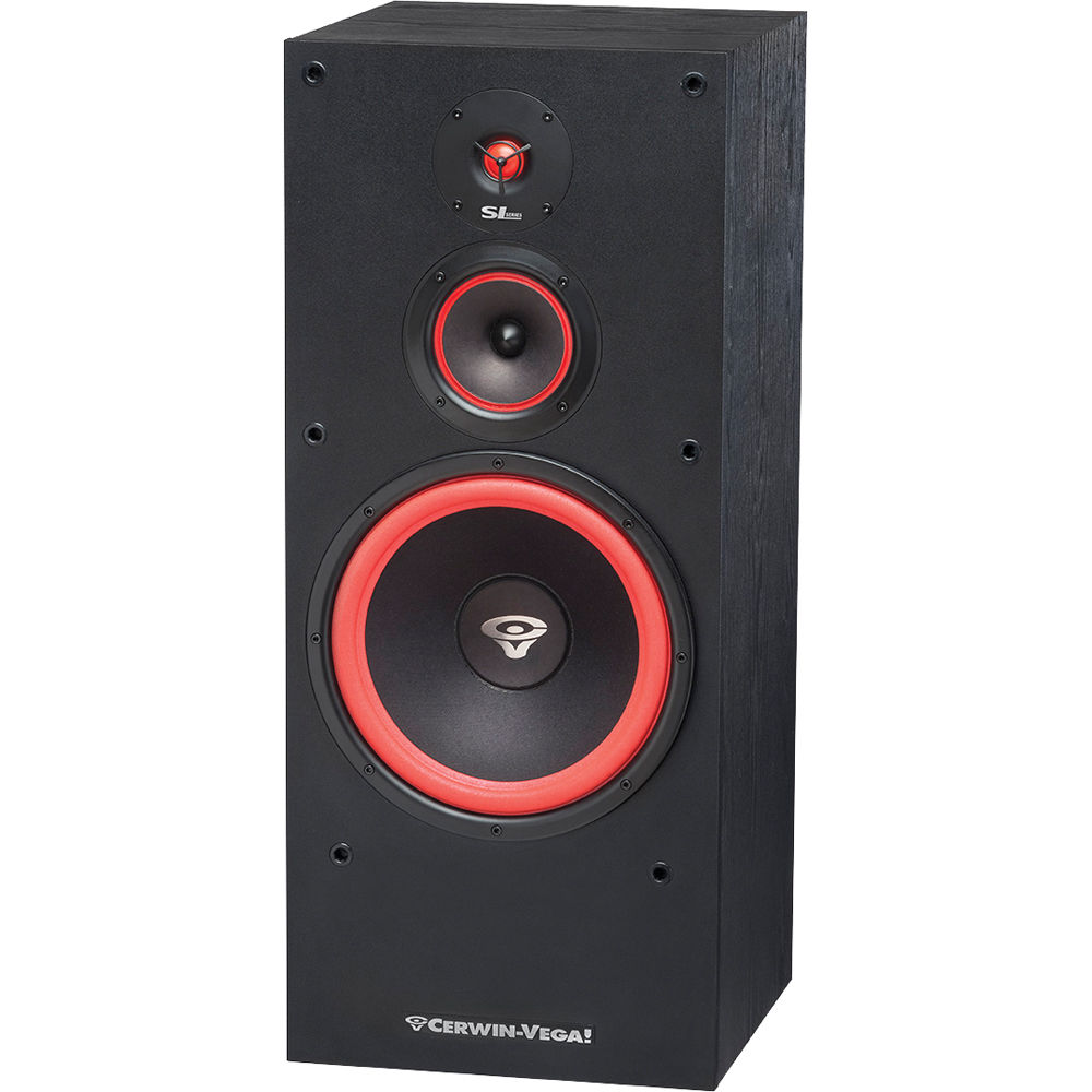 cerwin vega sl 12 floorstanding speaker sl 12 b h photo video