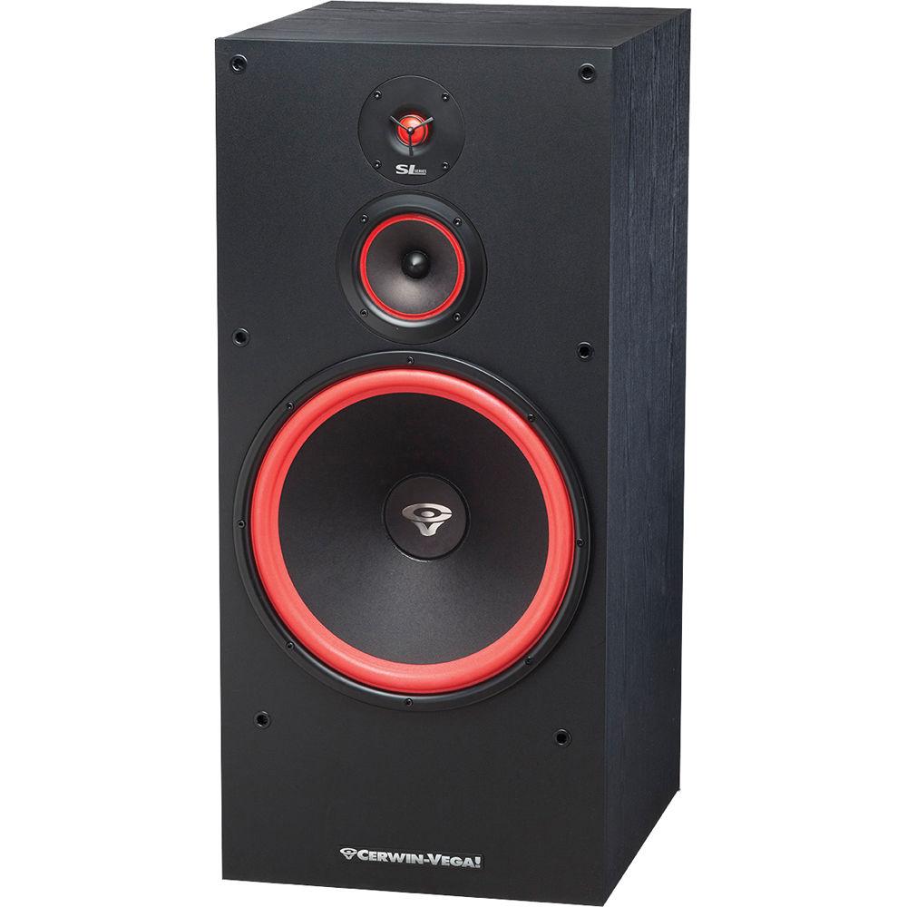 Cerwin vega sl 15 floorstanding speaker sl 15 b h photo video for 15 floor speakers
