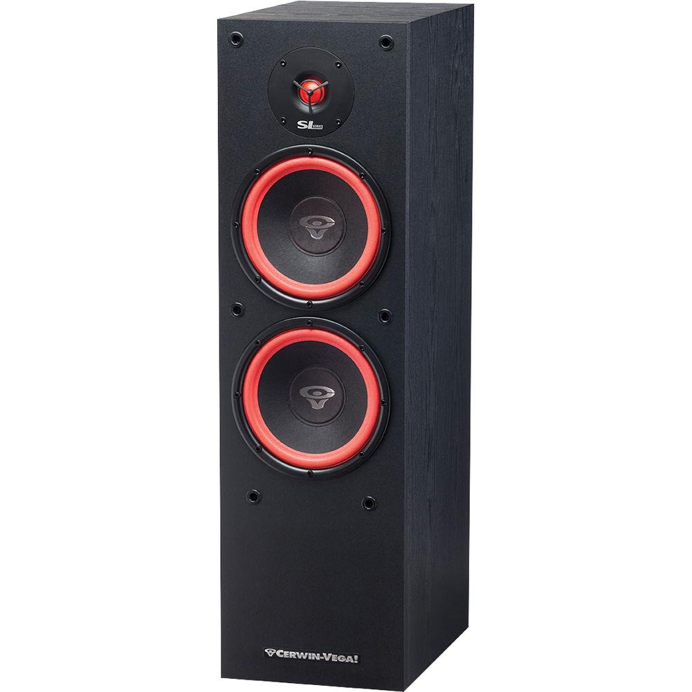Cerwin Vega Sl 28 Dual 8 Quot 2 Way Floor Tower Speaker Sl 28