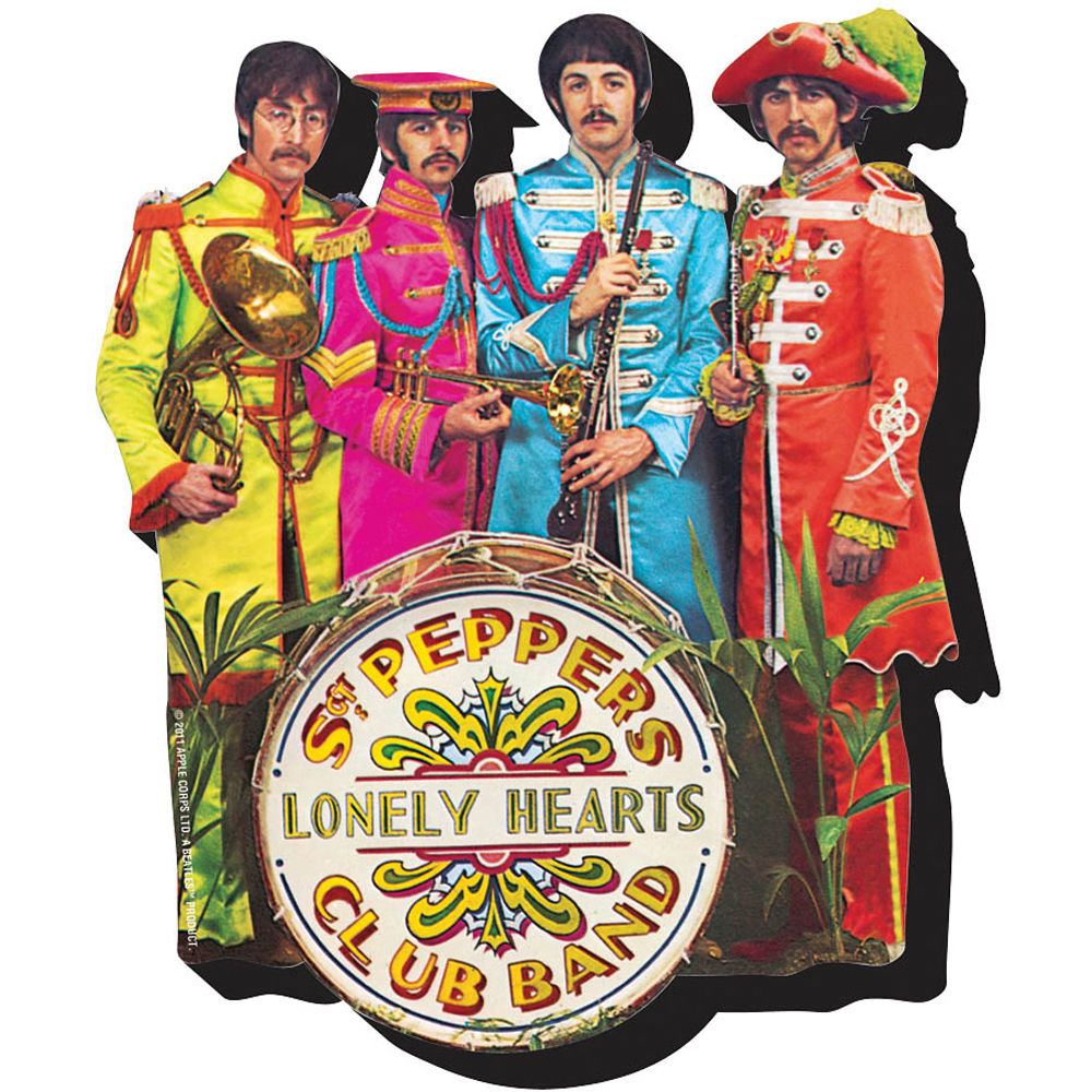 chunky magnet the beatles sgt pepper chunky magnet 95024 b h. Black Bedroom Furniture Sets. Home Design Ideas