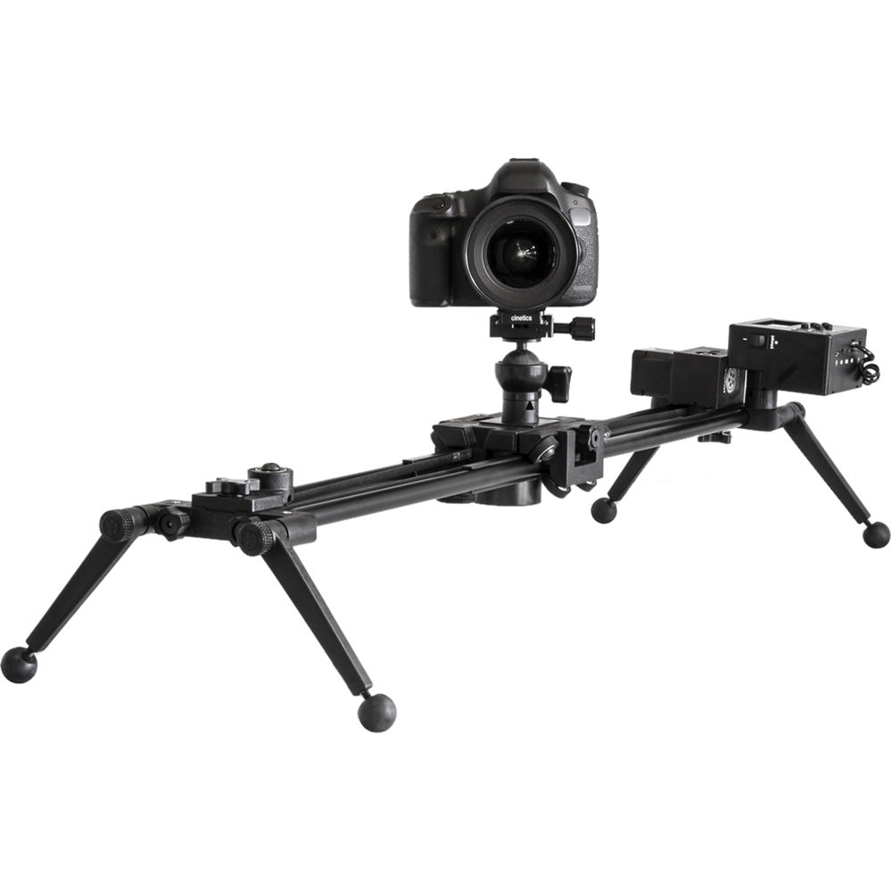 Cinetics axis360 pro motorized motion control system and Motorized video slider