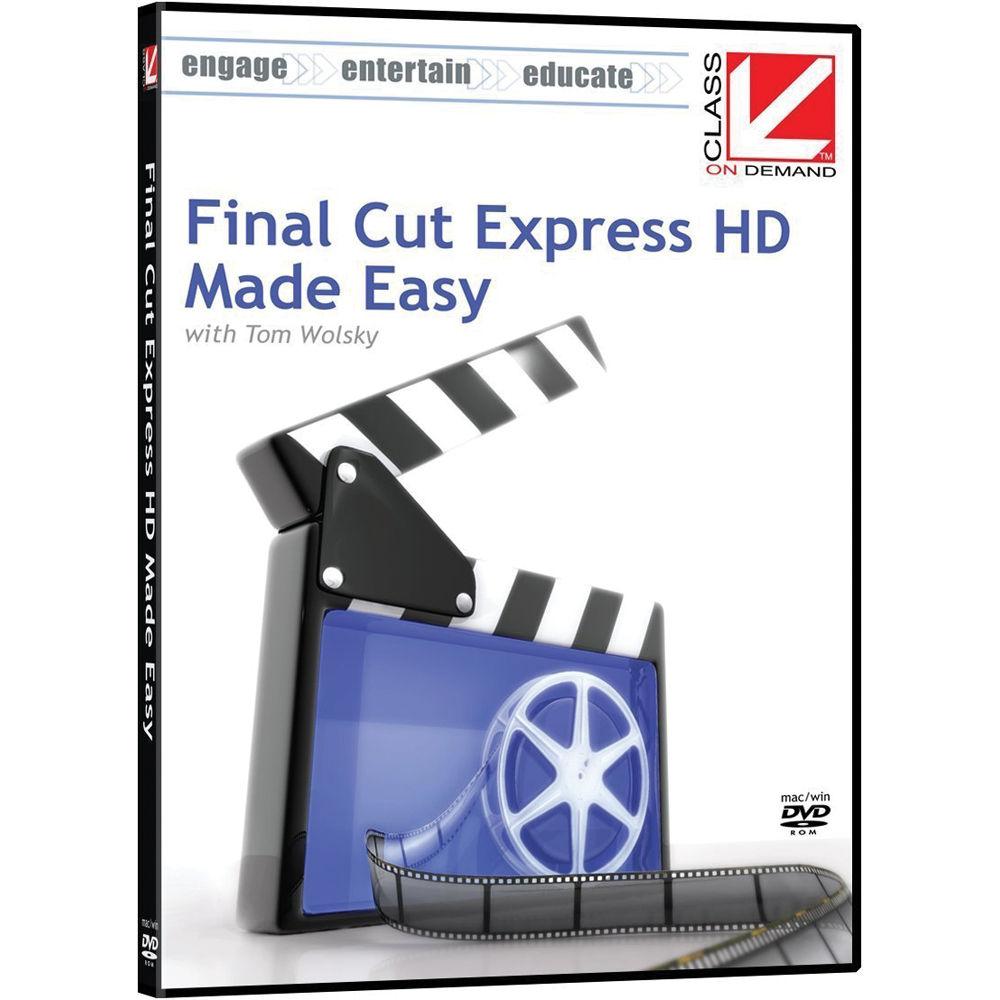 final cut express 4 editing workshop wolsky tom