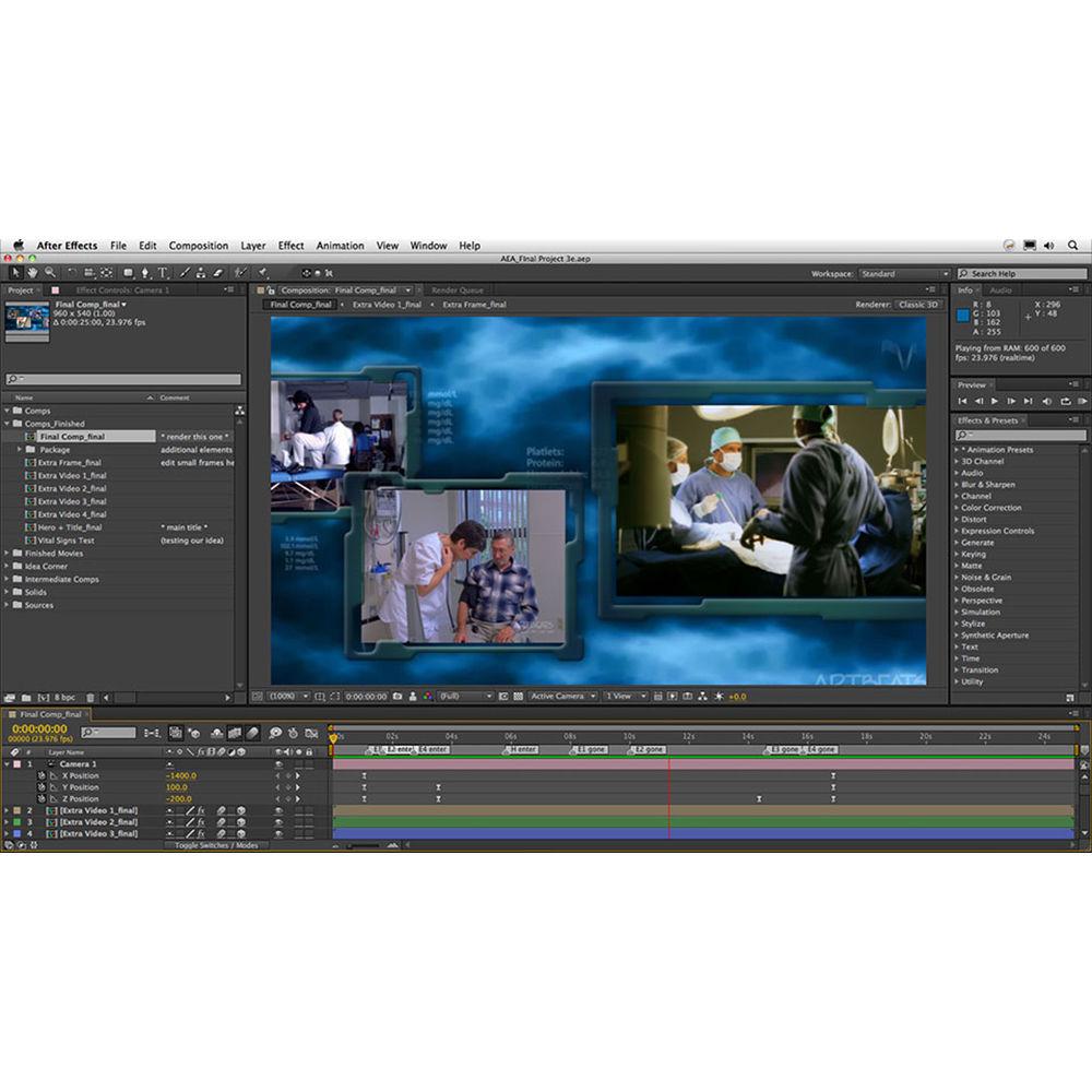 Class on Demand Online Tutorial: After Effects Apprentice 16: Final Project  for CS5, CS6, & CC