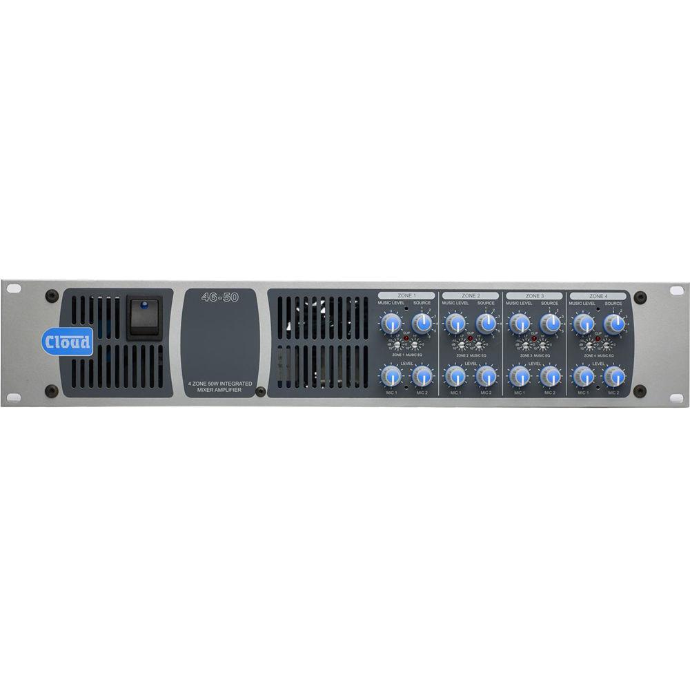 Simple power amplifier 4x50 W 58