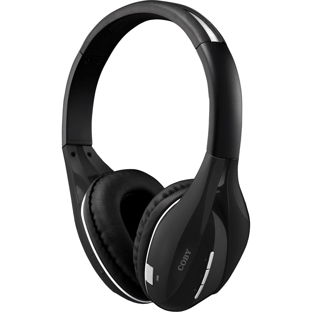 Coby CVBT10 On-Ear Wireless Bluetooth Stereo Headphones