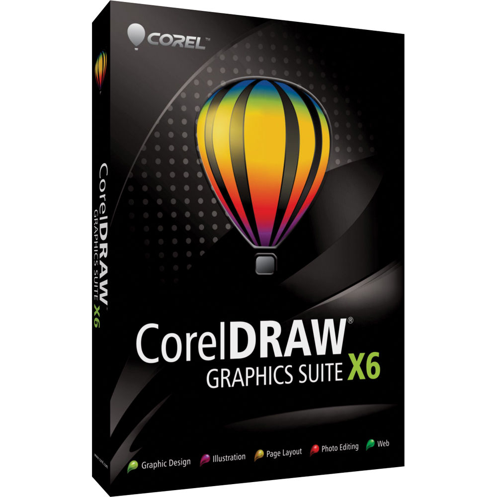 Corel CorelDRAW Graphics Suite X6 (Windows)