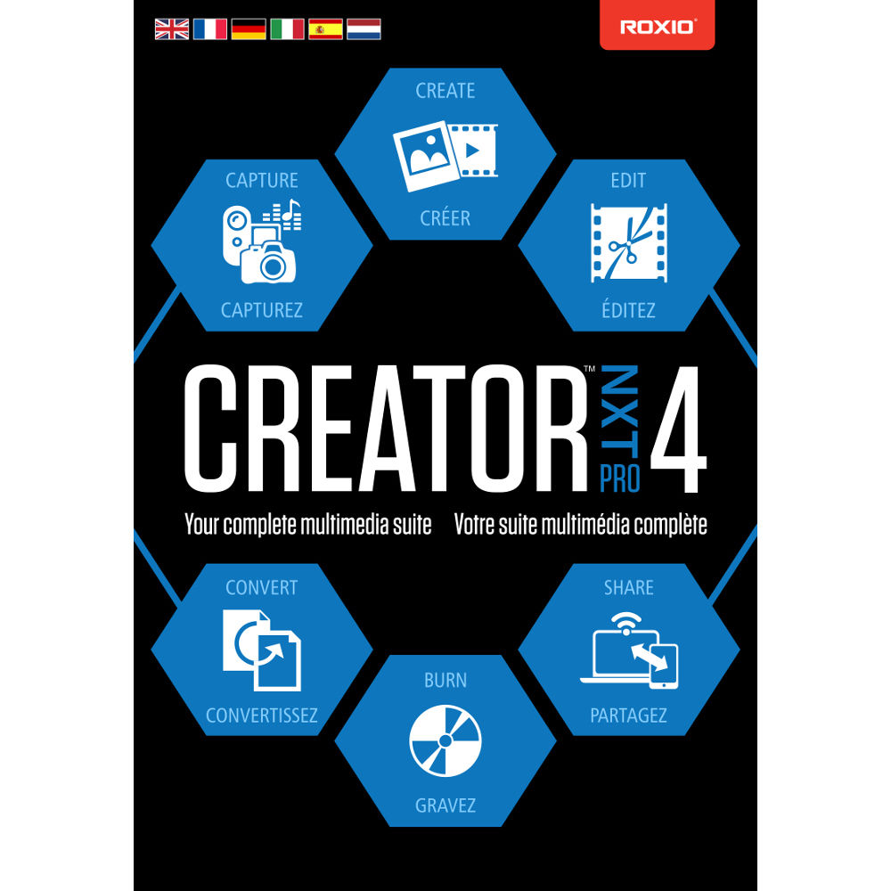 Download roxio creator nxt 6 for pc free.