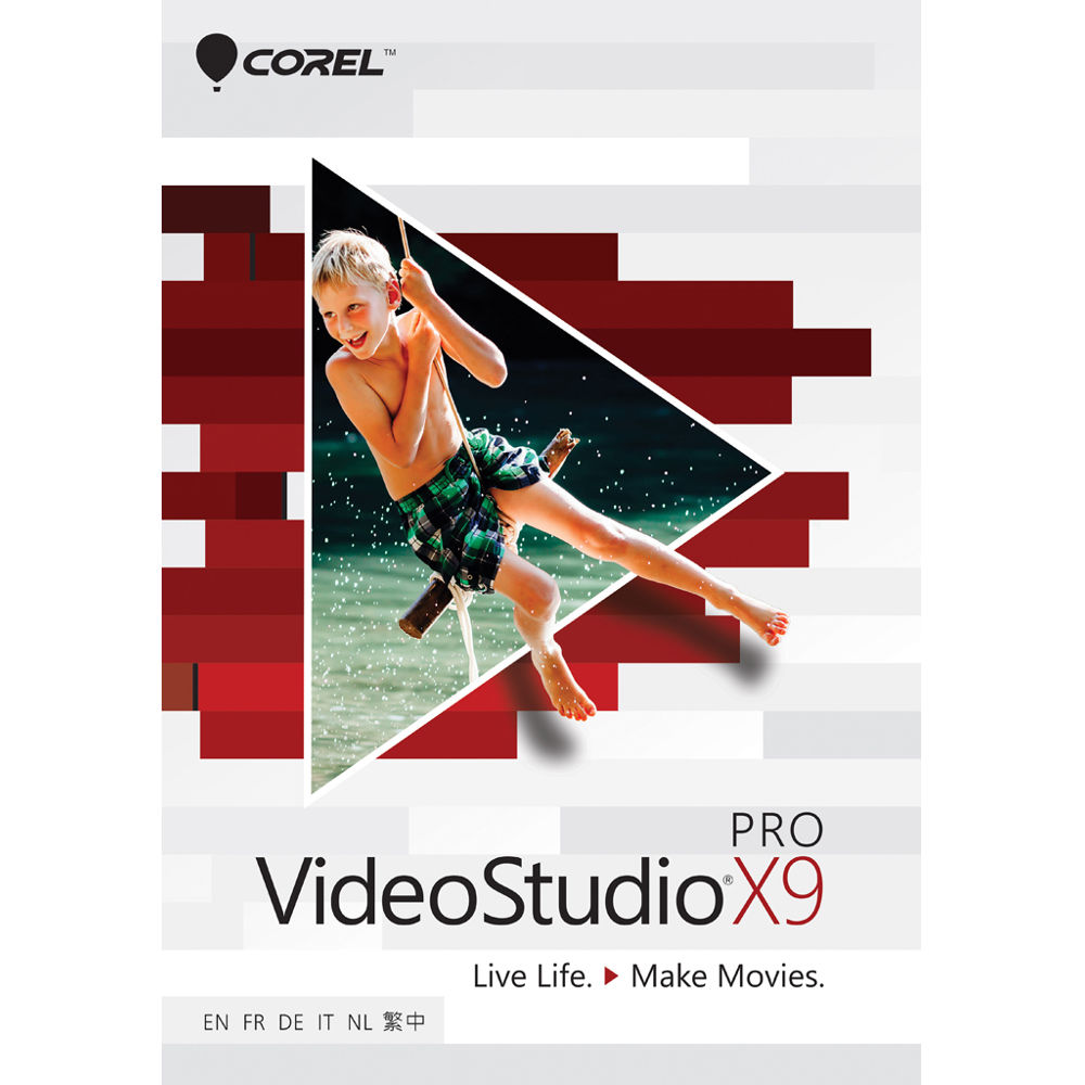 Corel videostudio pro x9 download esdvsprx9ml b h photo for Free corel video studio templates