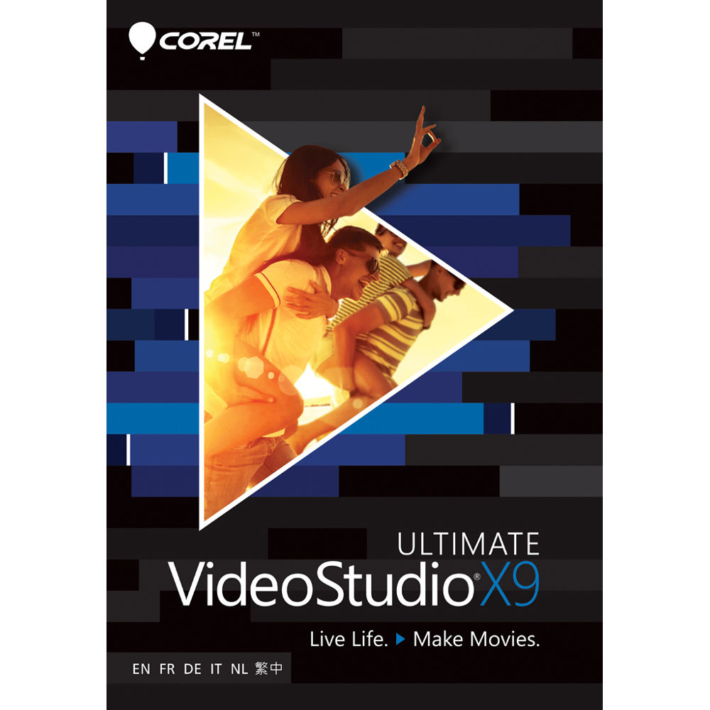Corel VideoStudio X9 Ultimate (Download) ESDVSPRX9ULML B&H Photo