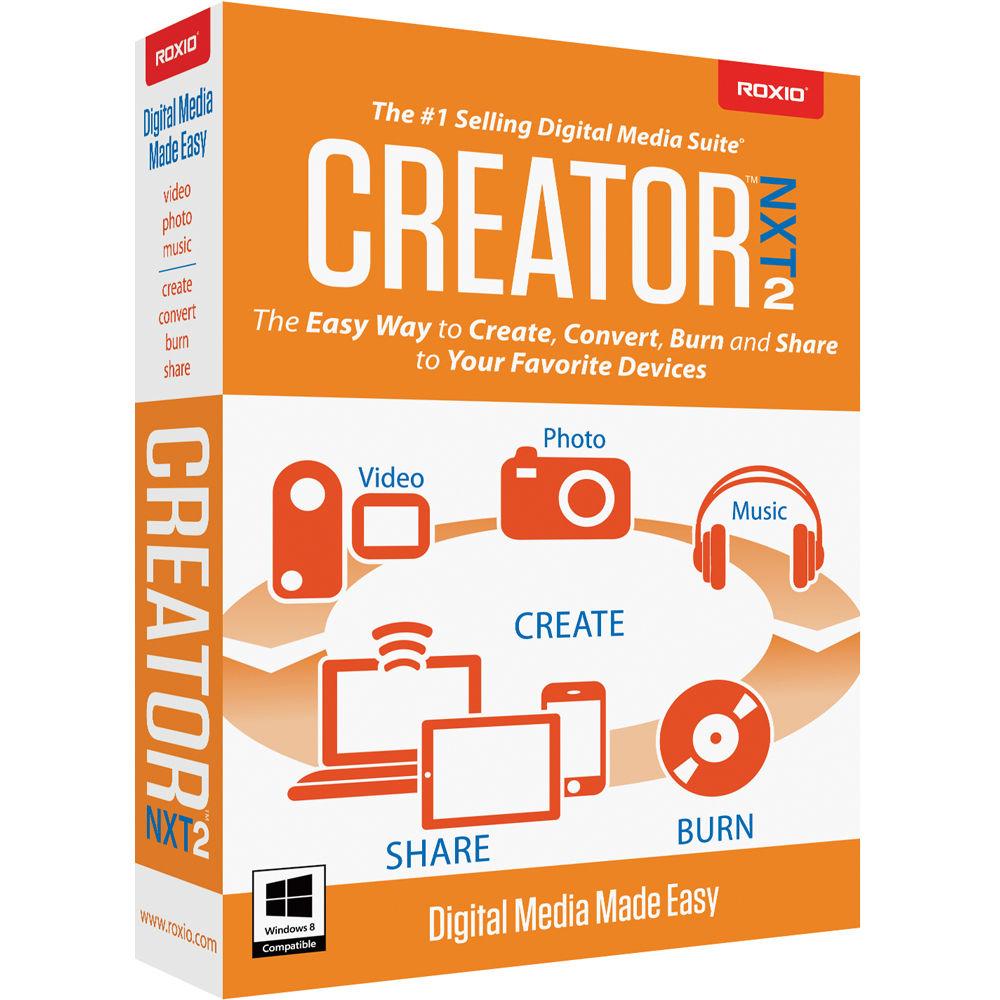 roxio creator nxt 4 user manual