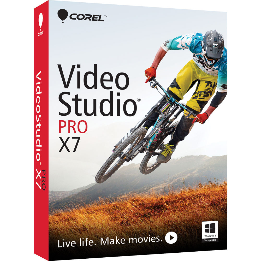 corel videostudio pro x7 video editing software vsprx7enmb b h. Black Bedroom Furniture Sets. Home Design Ideas