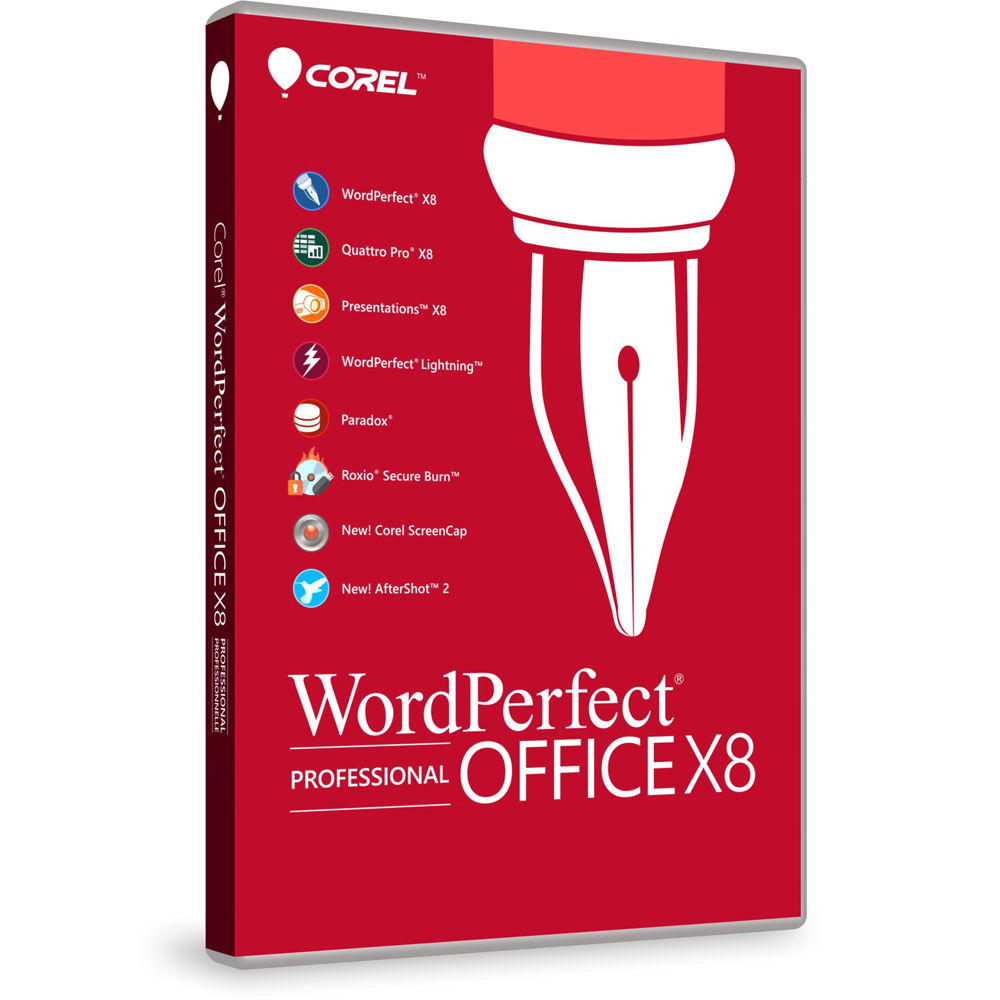 Corel wordperfect office x8 professional edition wpox8prefdvd corel wordperfect office x8 professional edition boxed publicscrutiny Gallery