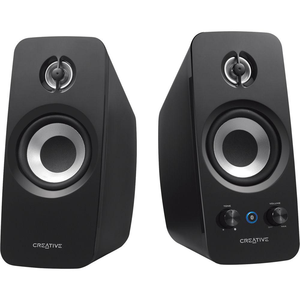 Creative labs creative t15 2 0 wireless speakers 51mf1670aa003 - Stereo casse wireless ...