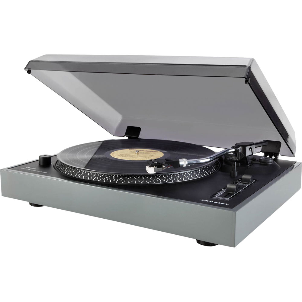 Crosley Radio Advance Turntable With Pitch Control Cr6009a Gy