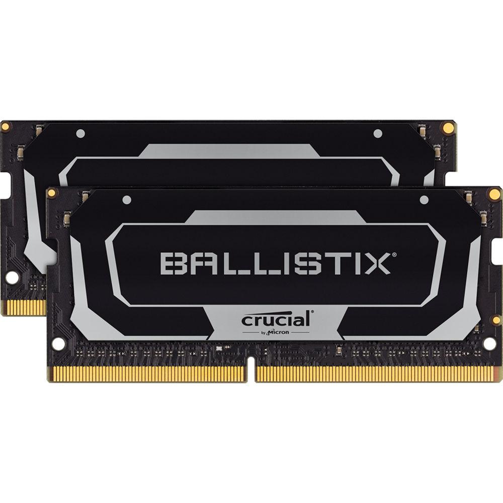 Crucial 16gb Ballistix Ddr4 3200 Mhz So Dimm Bl2k8g32c16s4b B H