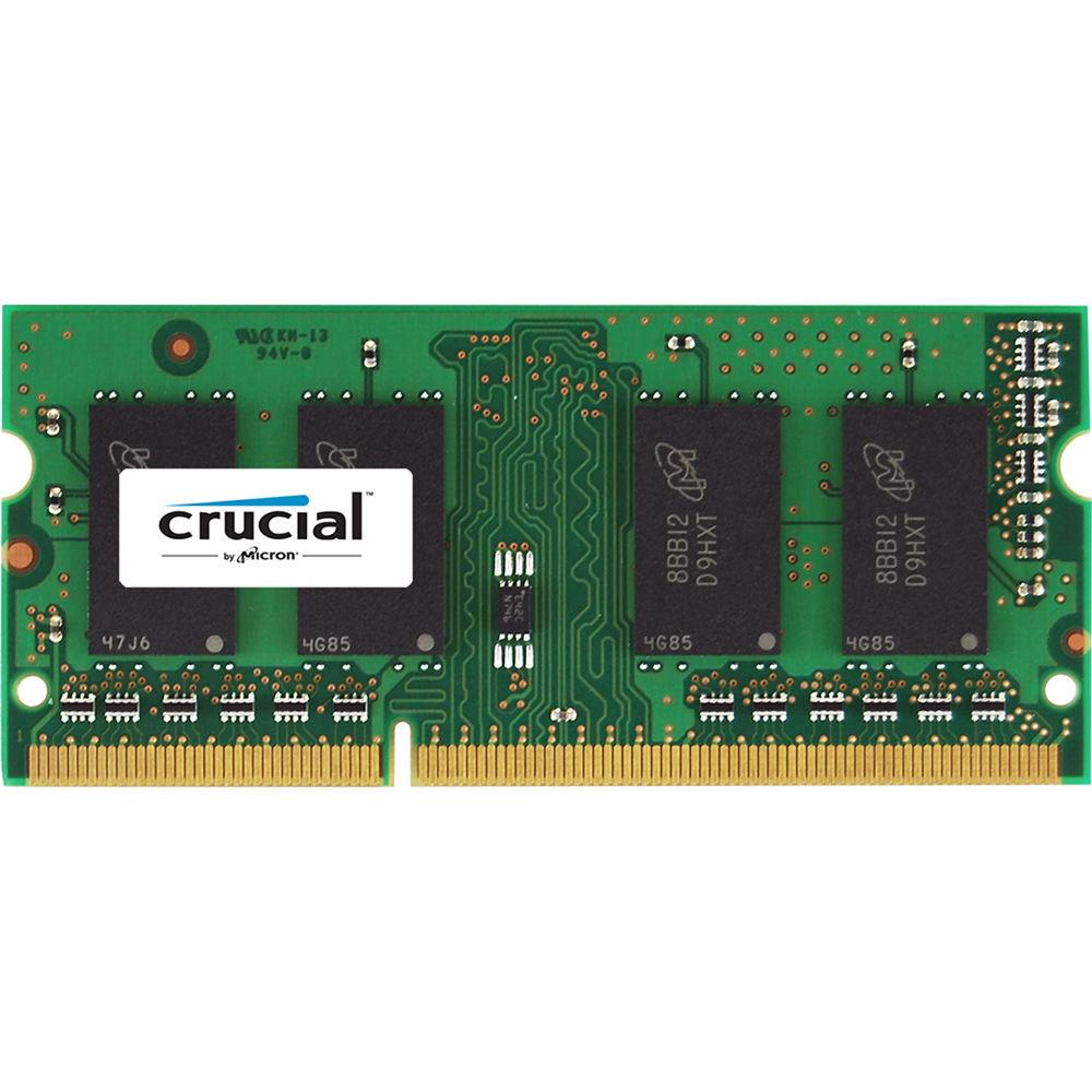 Crucial 16gb Ddr3l 1600 Mhz Sodimm Memory Module Ct204864bf160b