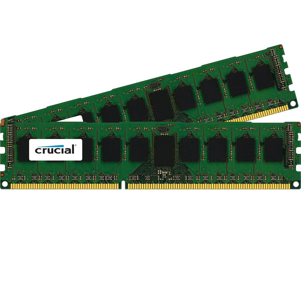 Crucial 16gb Ddr3 1600 Mhz Rdimm Memory Kit Ct2k8g3ersld4160b Samsung Server Pc3 12800r Ecc 2 X 8gb