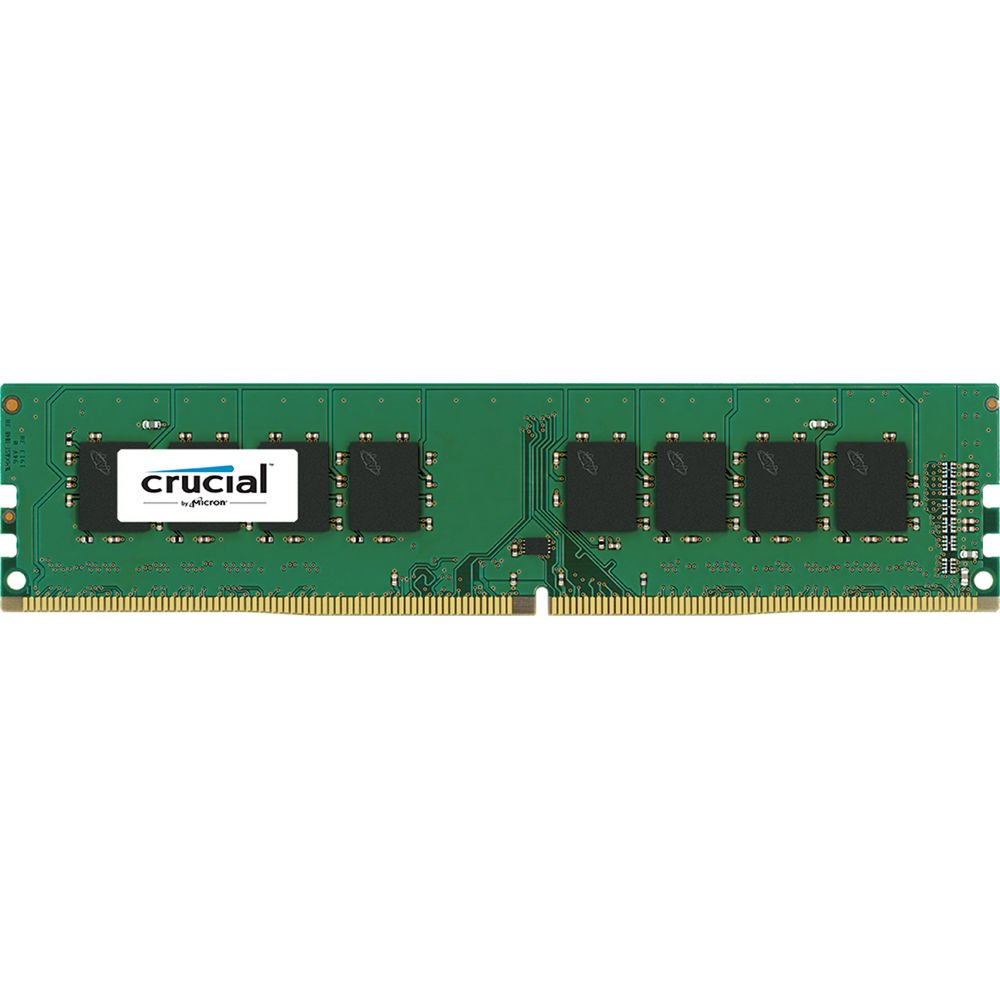 crucial 8gb ddr4 2133 mhz udimm memory module ct8g4dfd8213 b h. Black Bedroom Furniture Sets. Home Design Ideas